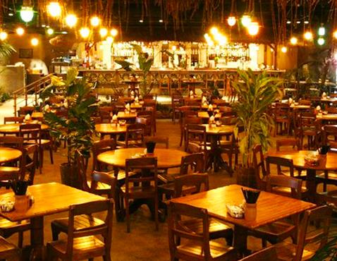 モンスーンカフェ舞浜の店内