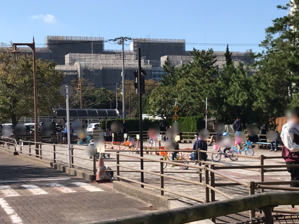 交通公園乗り物広場