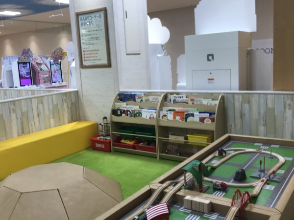 NICOgroundのおもちゃコーナー