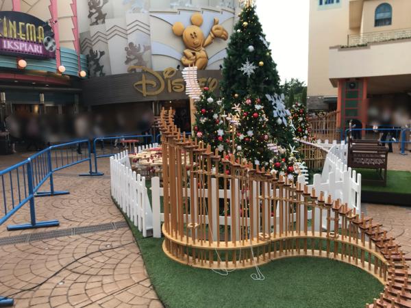 イクスピアリのクリスマスツリー2019
