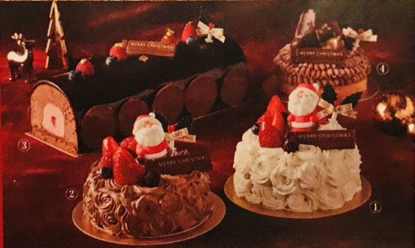 東京ベイ舞浜ホテルクラブリゾートクリスマスケーキ