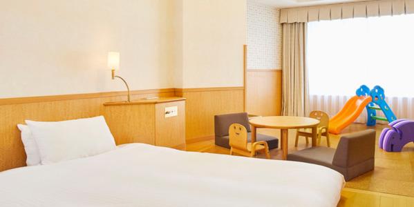 ホテルエミオン赤ちゃんルーム