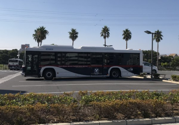 パートナーホテルのシャトルバス