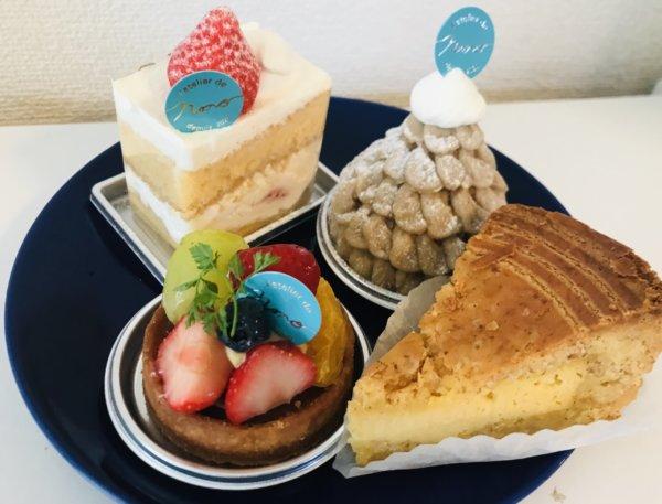 ラトリエ・ドゥ・ノノのケーキ