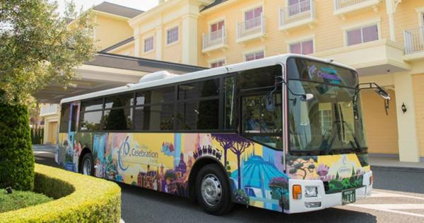セレブレーションホテル送迎バス
